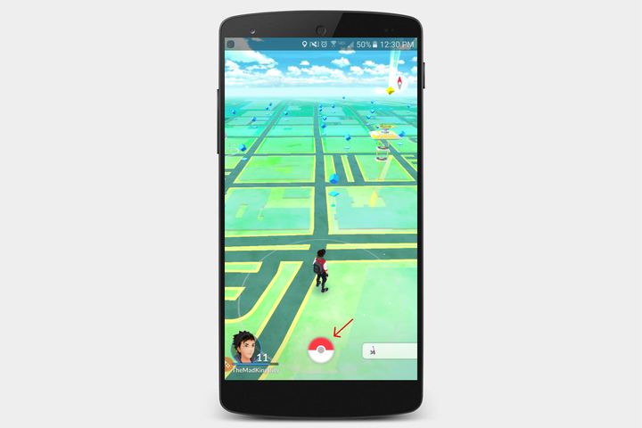 pokemon go screen 1