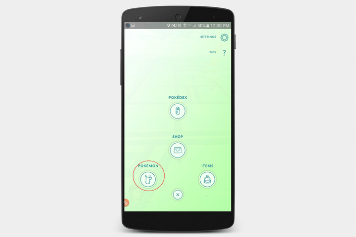 pokemon go screen 2
