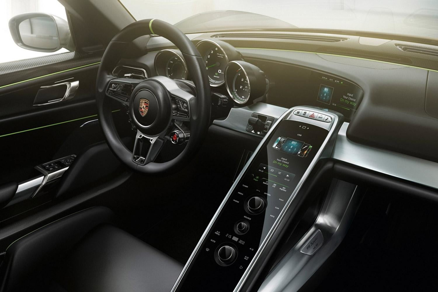 Porsche 918 Spyder Hybrid Has 1 Million Price Tag Frankfurt Motor Show Digital Trends
