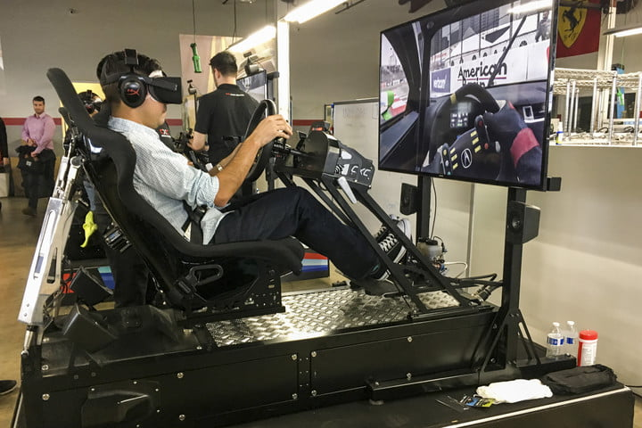 we played project cars 2 in a gigantic racing simulator projectcars2 testdrive 397 1