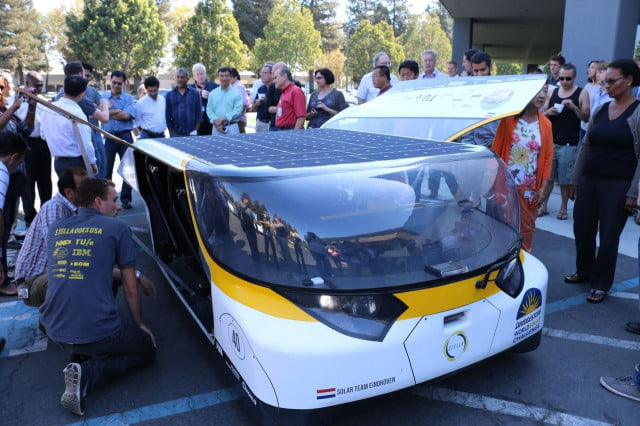 Stella, the world's first solar-powered family car, just conquered California's Highway 1