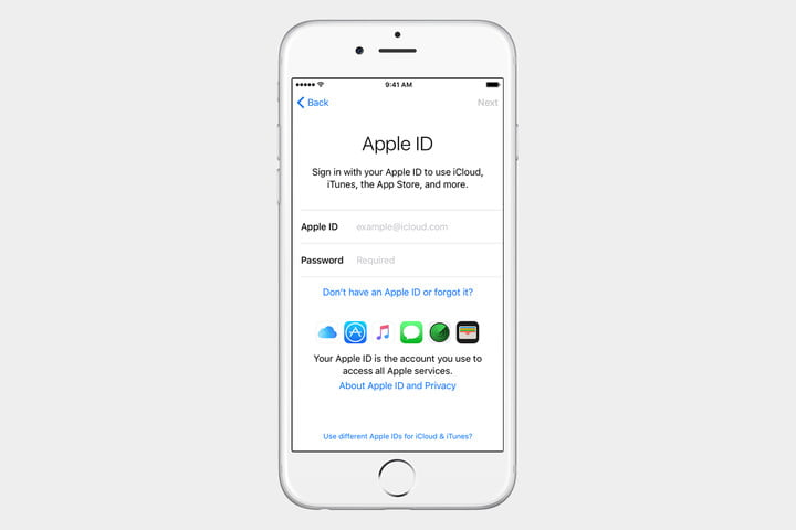 guide to ios set up iphone apple id