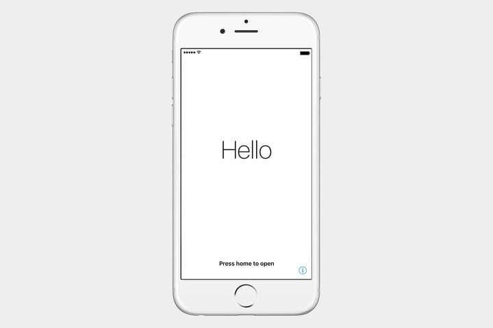 guide to ios set up iphone hello