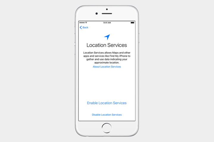 guide to ios set up iphone location