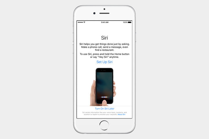 guide to ios set up iphone siri