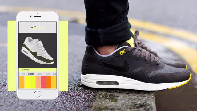 Upcoming 'Shift Sneakers' will change color and design via a mobile app