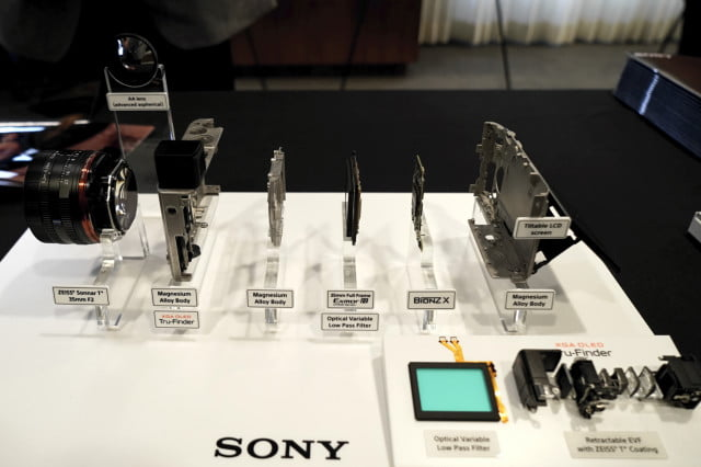 Sony's Cyber-shot RX1R II, disassembled – an engineering feat.