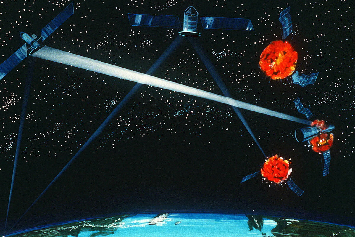 International relations are tense in orbit. Is creating a 'Space Force' a good idea?