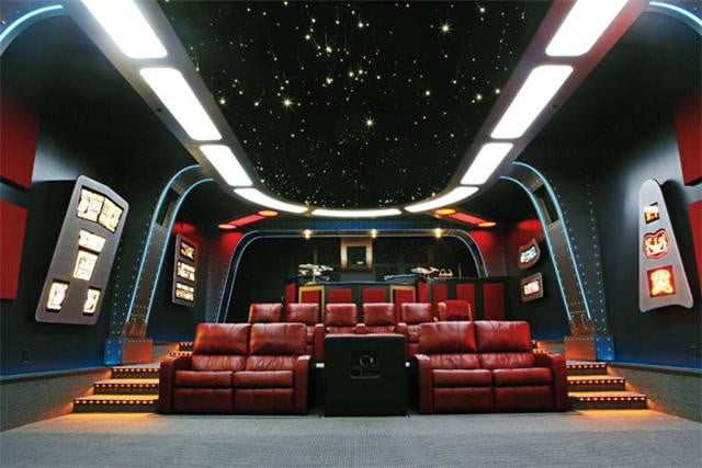 5 Amazing Star Trek Inspired Houses And Home Theaters