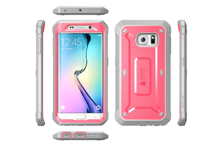 the 23 best galaxy s6 edge cases and covers digital trendssupcase unicorn beetle case supcase\u0027s holster case for the s6