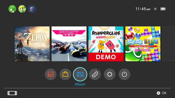 how to connect with friends nintendo switch album