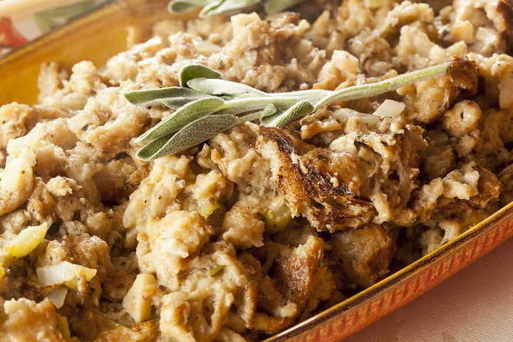 Thanksgiving leftovers stuffing