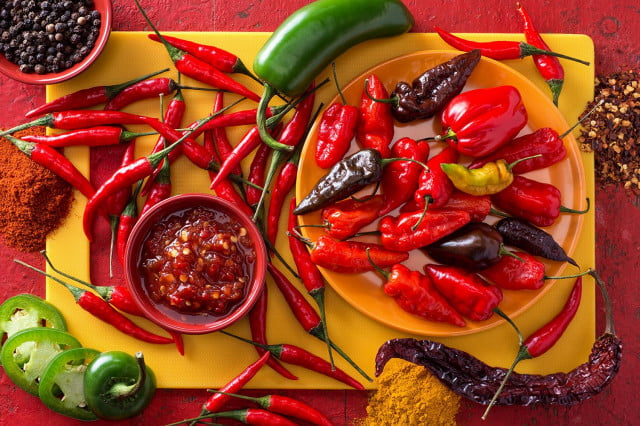The 5 hottest peppers known to man