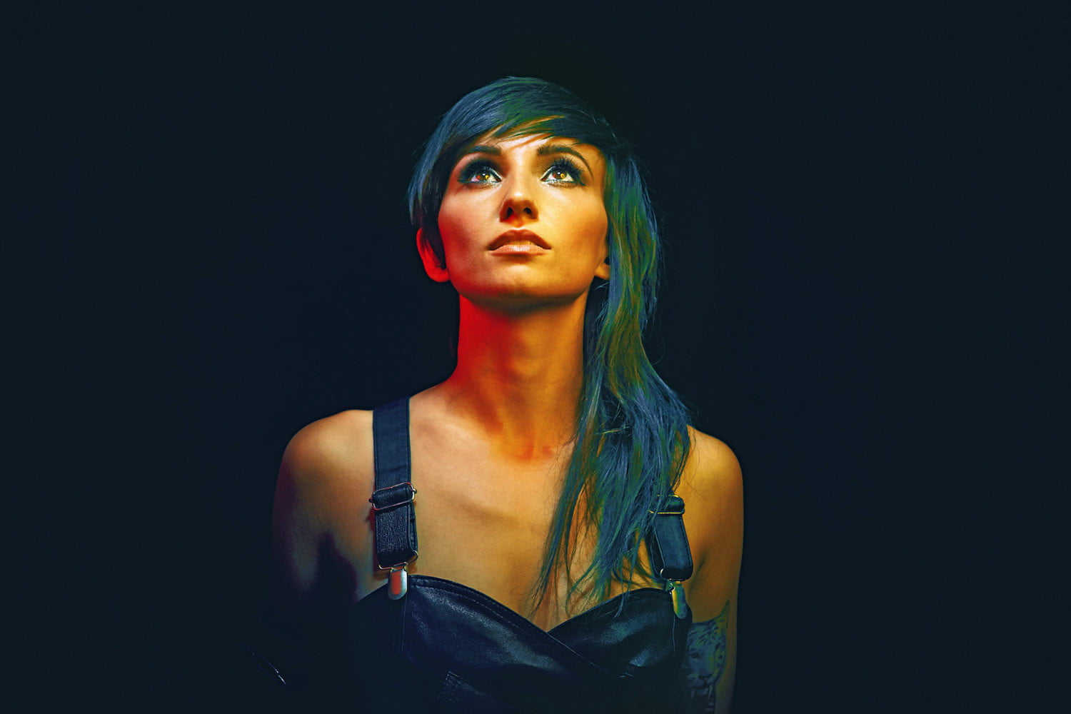 Lights on Little Machines, Recording Through Her Pregnancy