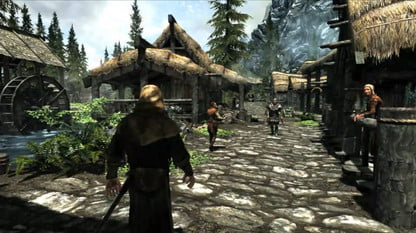 You can play The Elder Scrolls V: Skyrim until the universe