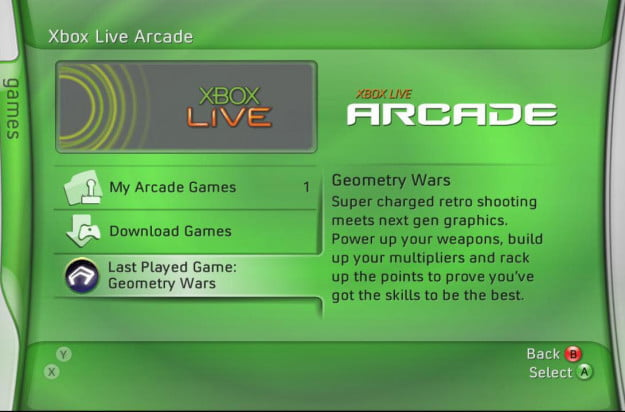 The History of the Xbox Live Arcade