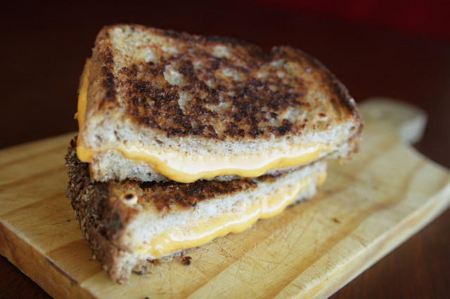 The quest for the perfect grilled cheese sandwich
