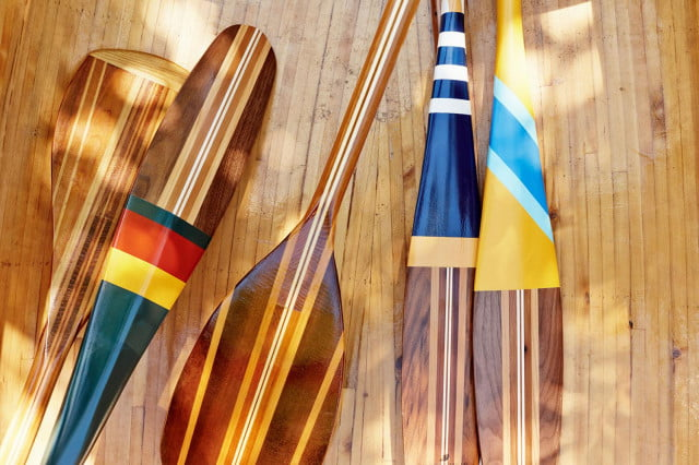 Trekking: Sanborn paddles are as functional as they are handsome