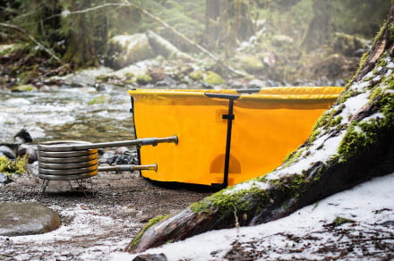 Trekking: Soak it up with Nomad's collapsible hot tub