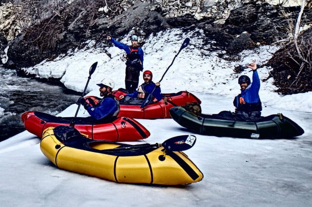 Trekking: The Alpackalypse is a raft you can carry to whitewater