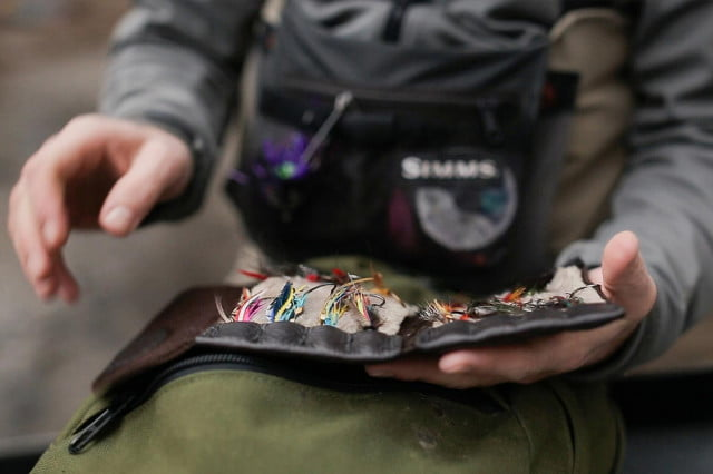 Trekking: The Fly Wallet lets you stash your flies with style