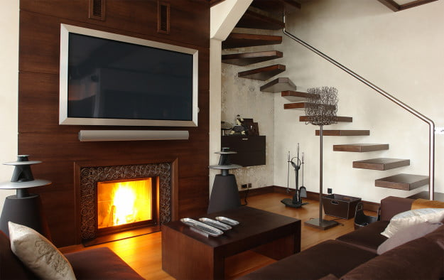 4 reasons not to slap that flat-screen TV over your fireplace