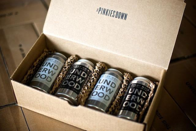 Underwood Wines in a Can