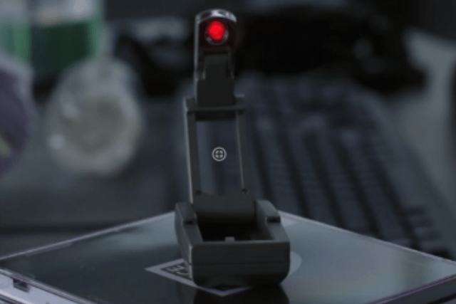 The anti-surveillance gadget in V For Vendetta is a simple book light