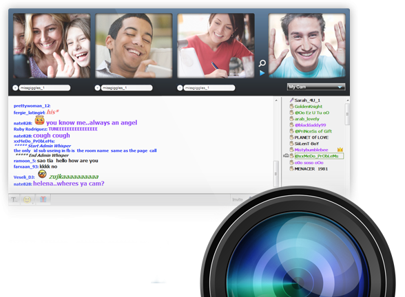 online cam chat rooms