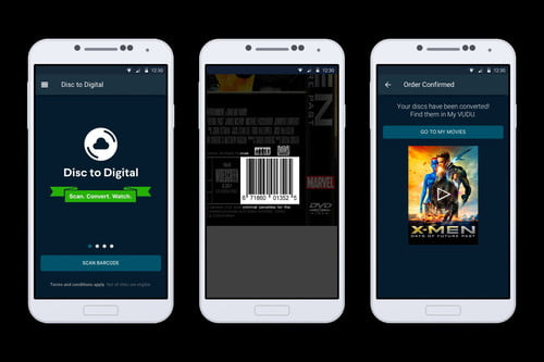 Vudu Launches Mobile Disc-to-Digital For Blu-ray, DVD Discs