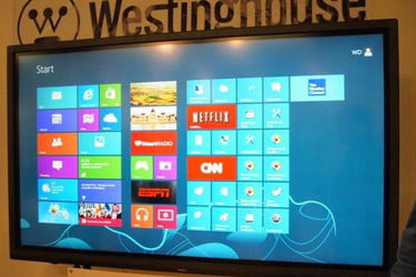 Hands on: Westinghouse's 84-inch Windows 8 4K LED WhiteBoard monitor