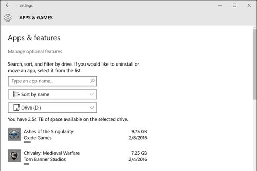 How To Manage Disk Space With Windows 10 Storage Menu