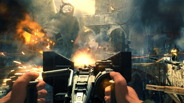 Wolfenstein The New Order hands on screenshot CleaningMyCastle