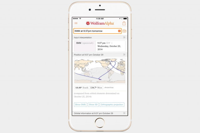 WolframAlpha Final App