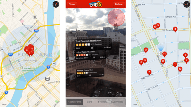 Yelp Monocle (Android/iOS/Kindle)